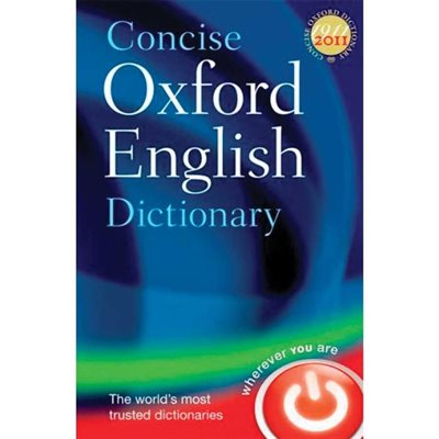 Dictionnaire anglais Concise Oxford